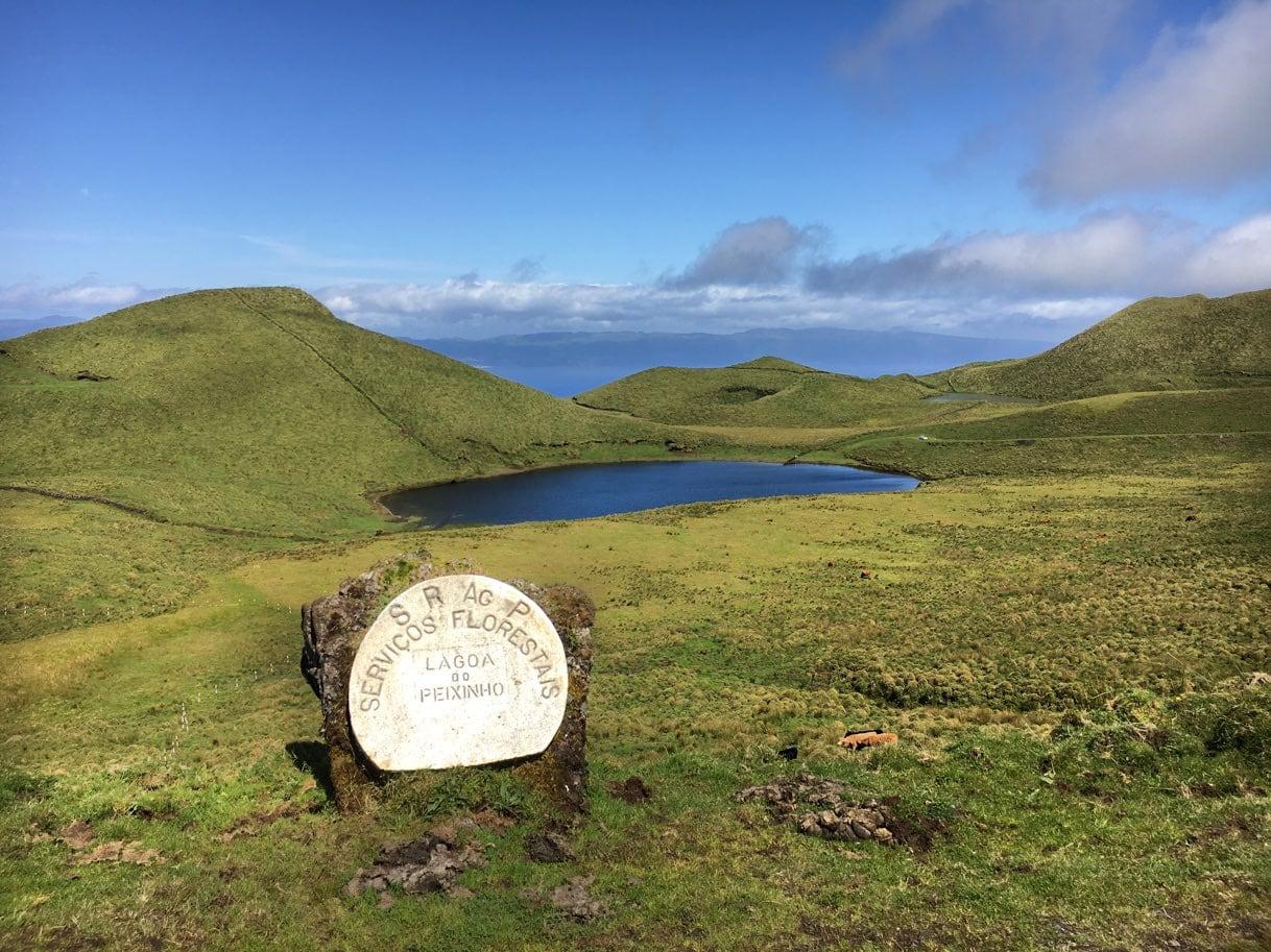 Pico, Azzorre - Attrattive - lagune - sentieri