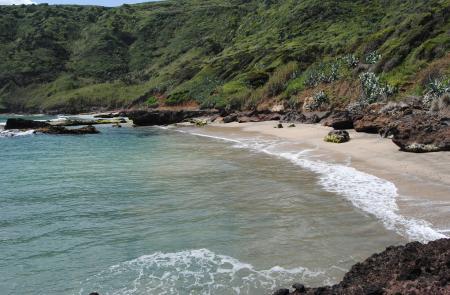 Trekking costa sul a Santa Maria Azzorre