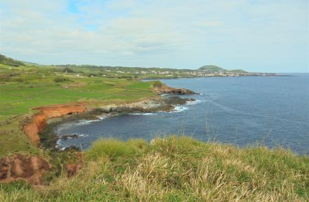 Trekking baia de sao sebastiao Terceira Azores