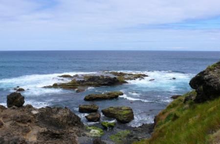 Trekking costa norte Santa Maria Azores