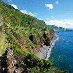 Trekking fajã grande Ponta Pelgada San Miguel Azzorre