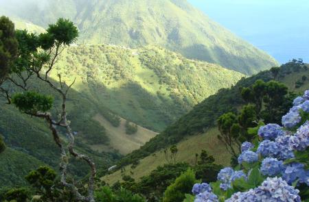 Trekking serra do topo Sao Jorge Azzorre
