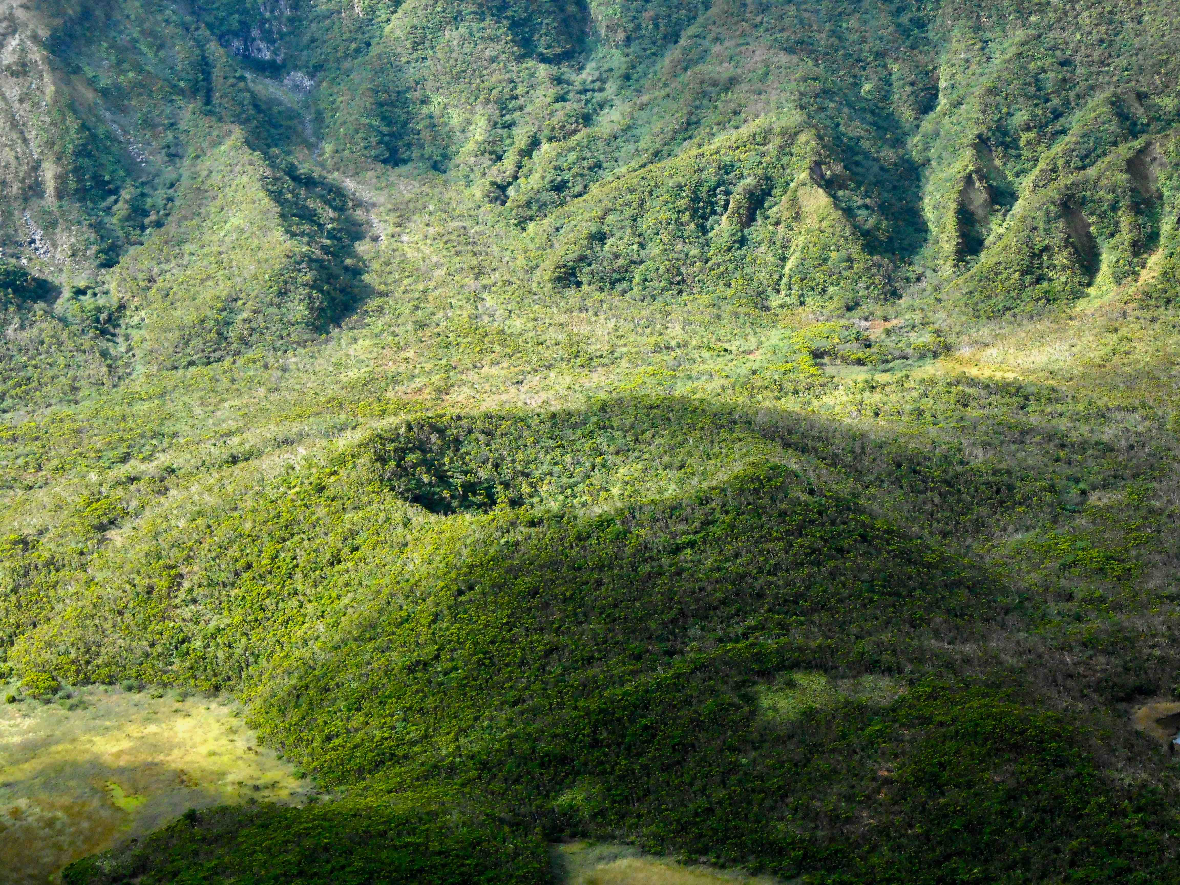 La caldeira del vulcano a Faial