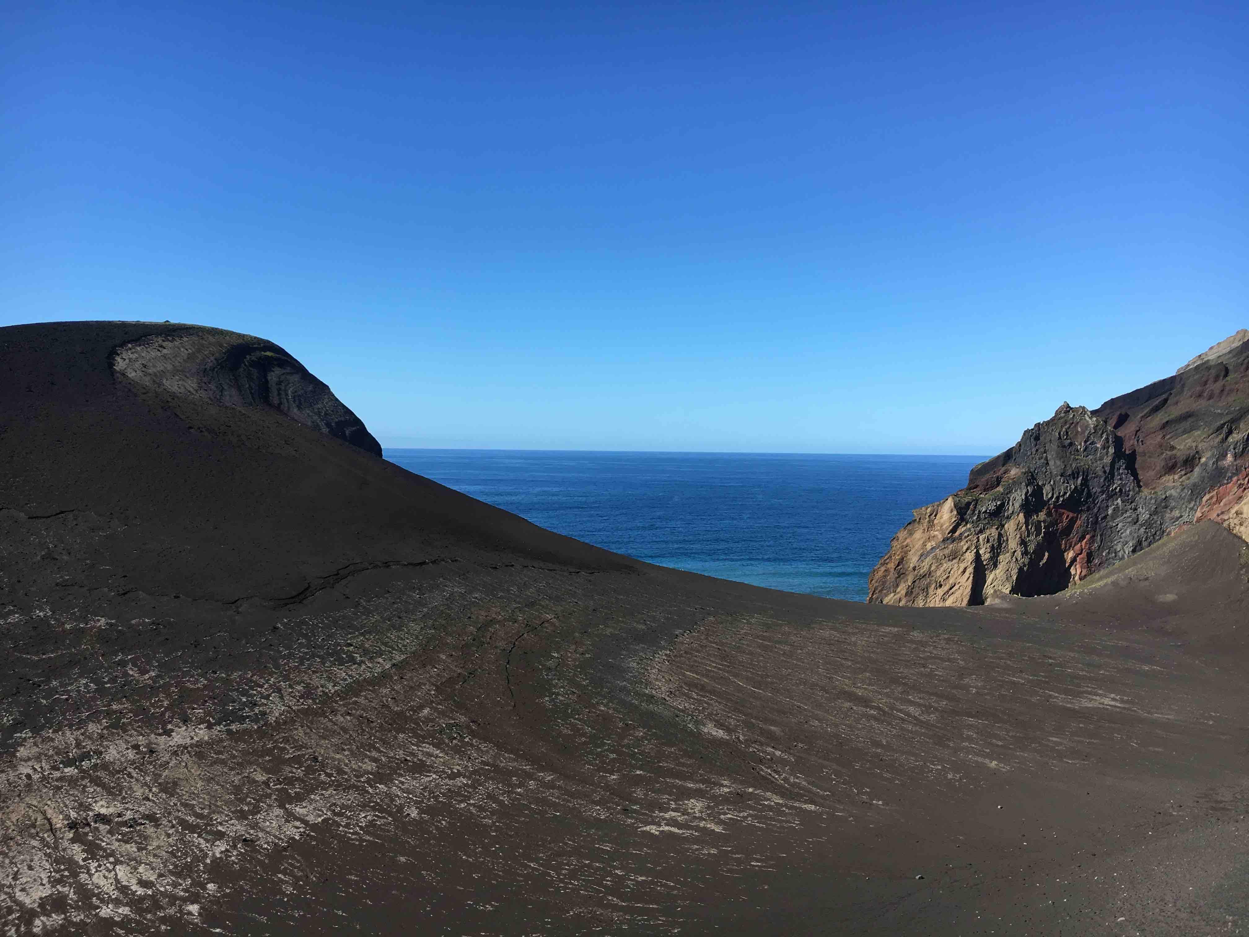 Vulcano di Capelinhos Faial Azzorre
