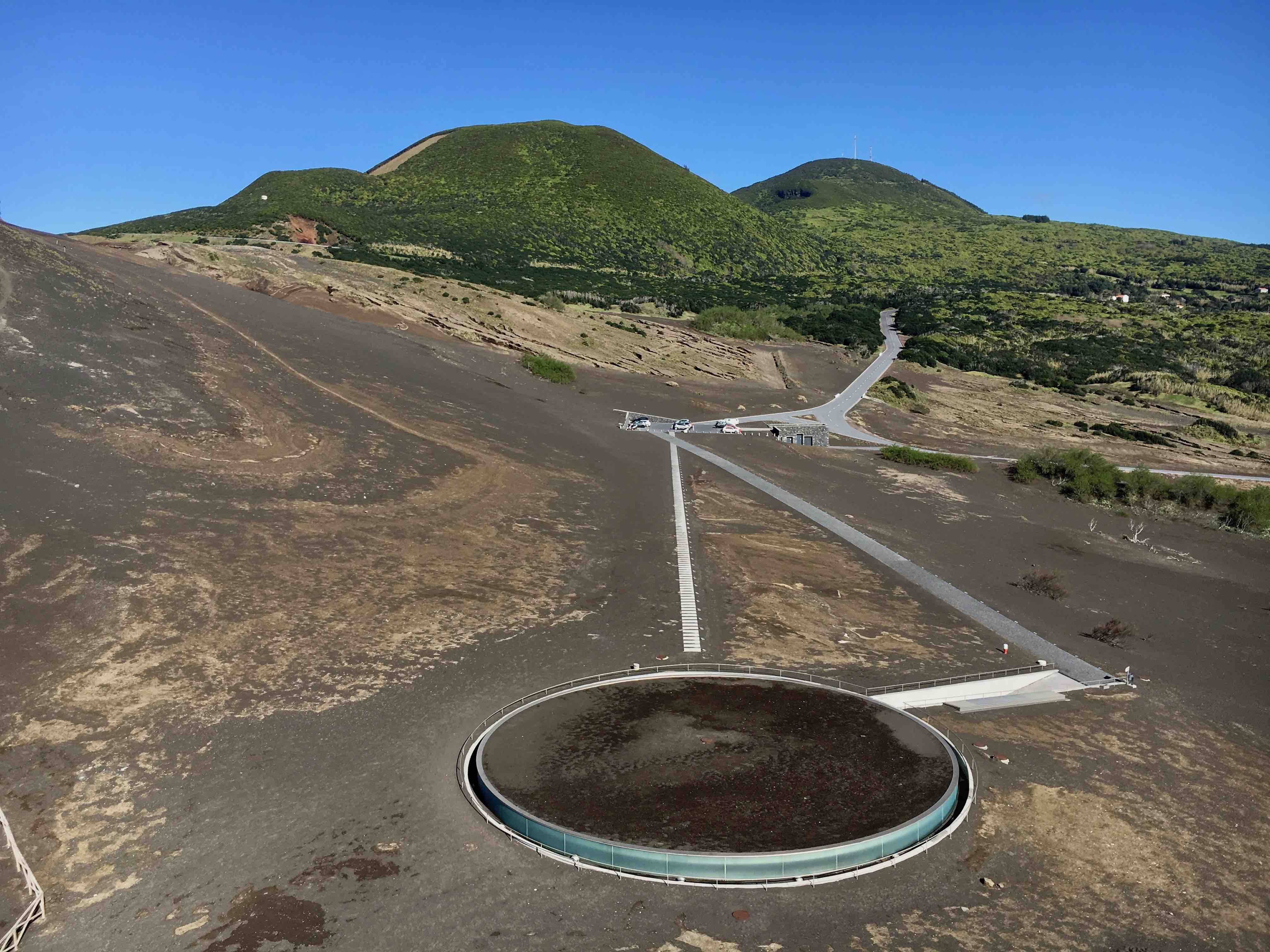 Centro di interpretazione vulcano di Capelinhos Faial
