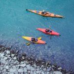 Kayak e canoa sul mare alle Azzorre