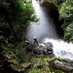 Cascate nella natura alle Azzorre
