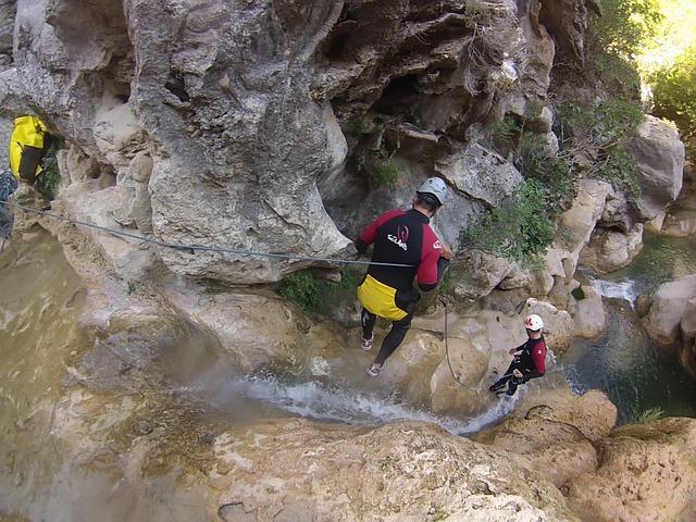Scalare canyon alle Azzorre