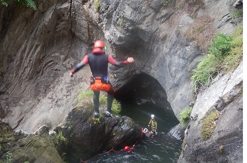 Fare canyoning alle Azzorre