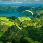 Volare in parapendio sulle Azzorre