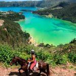 Passeggiare a cavallo alle Azzorre