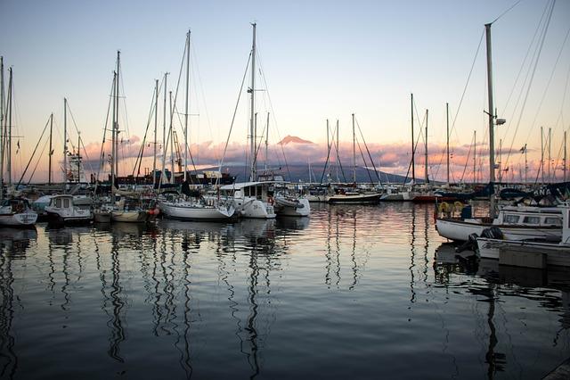 Sailboat Azores