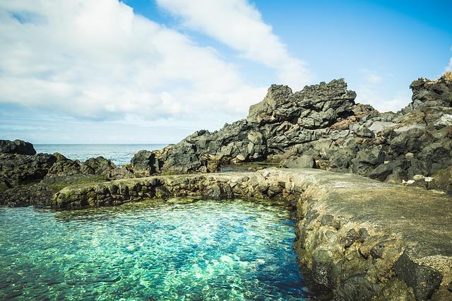 piscine naturali marine alle Azzorre
