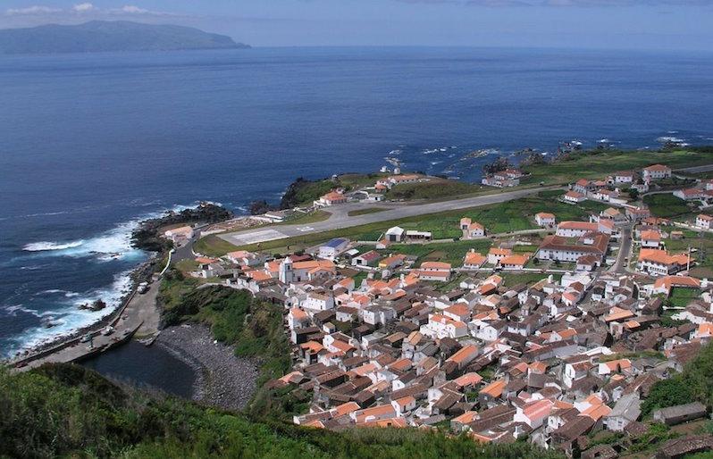 Cicloturismo a Vila do Corvo Isola di Corvo, Azzorre