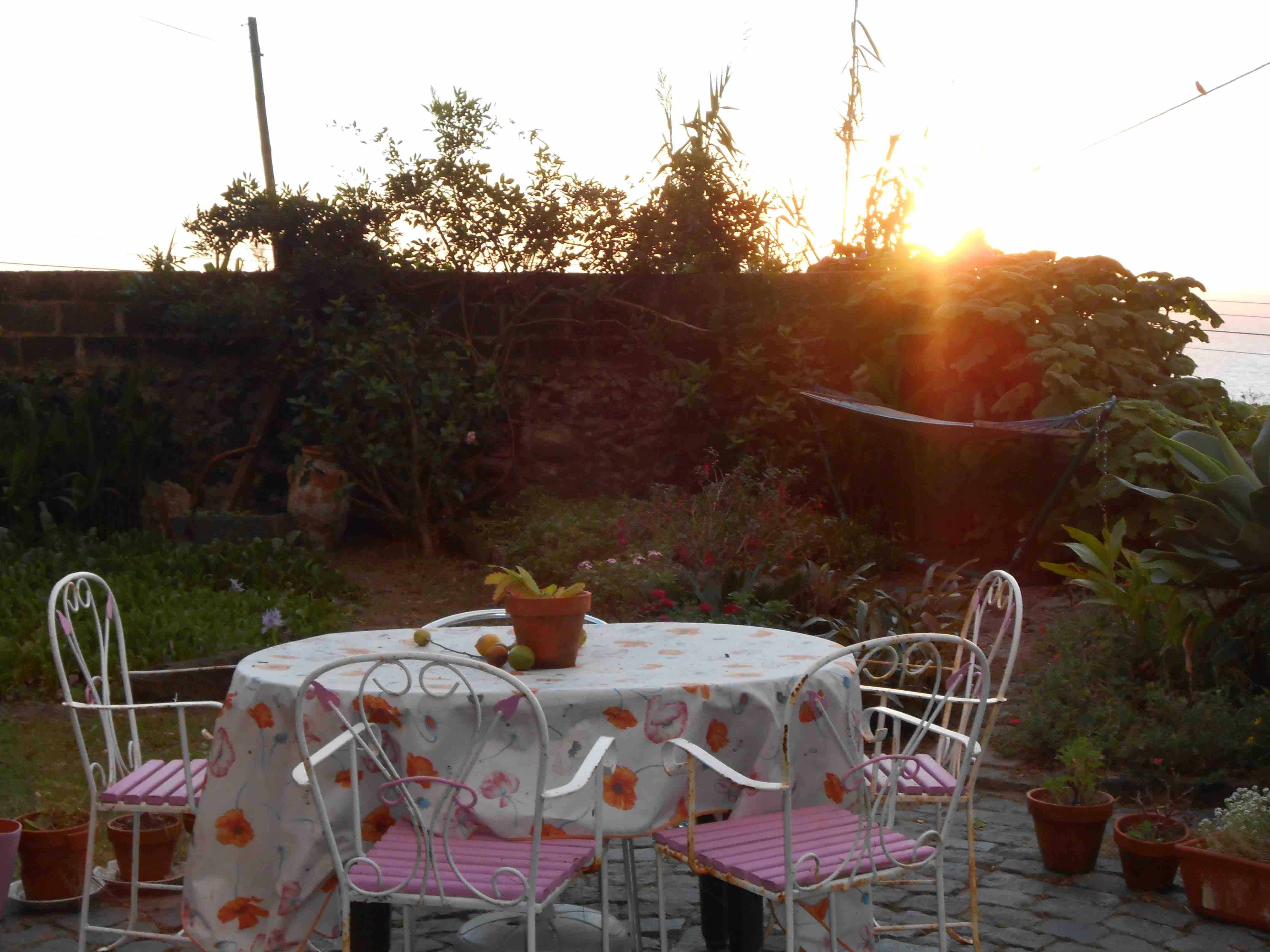Dove alloggiare alle Azzorre - Giardino e Tavola