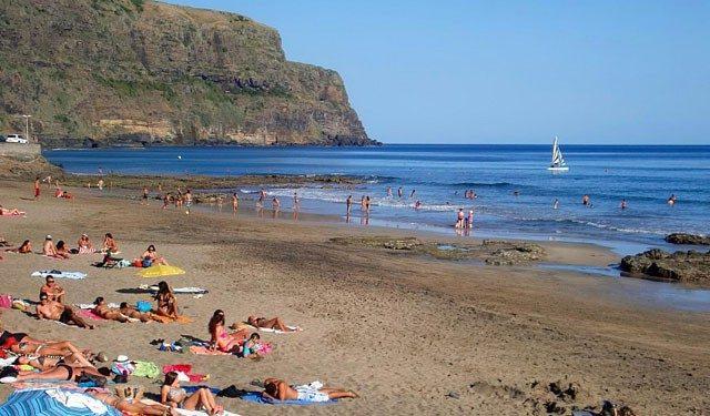 Spiaggia bianca a Santa Maria, Azzorre