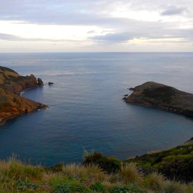 Dalla collina sull'Oceano, Azzorre
