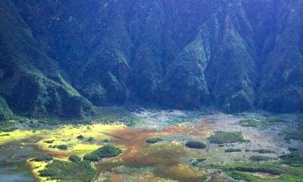 Paesaggio preistorico a Faial