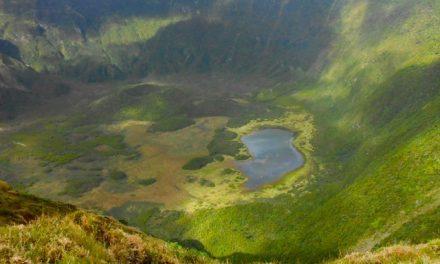 Vista dal bordo della Caldeira, Faial