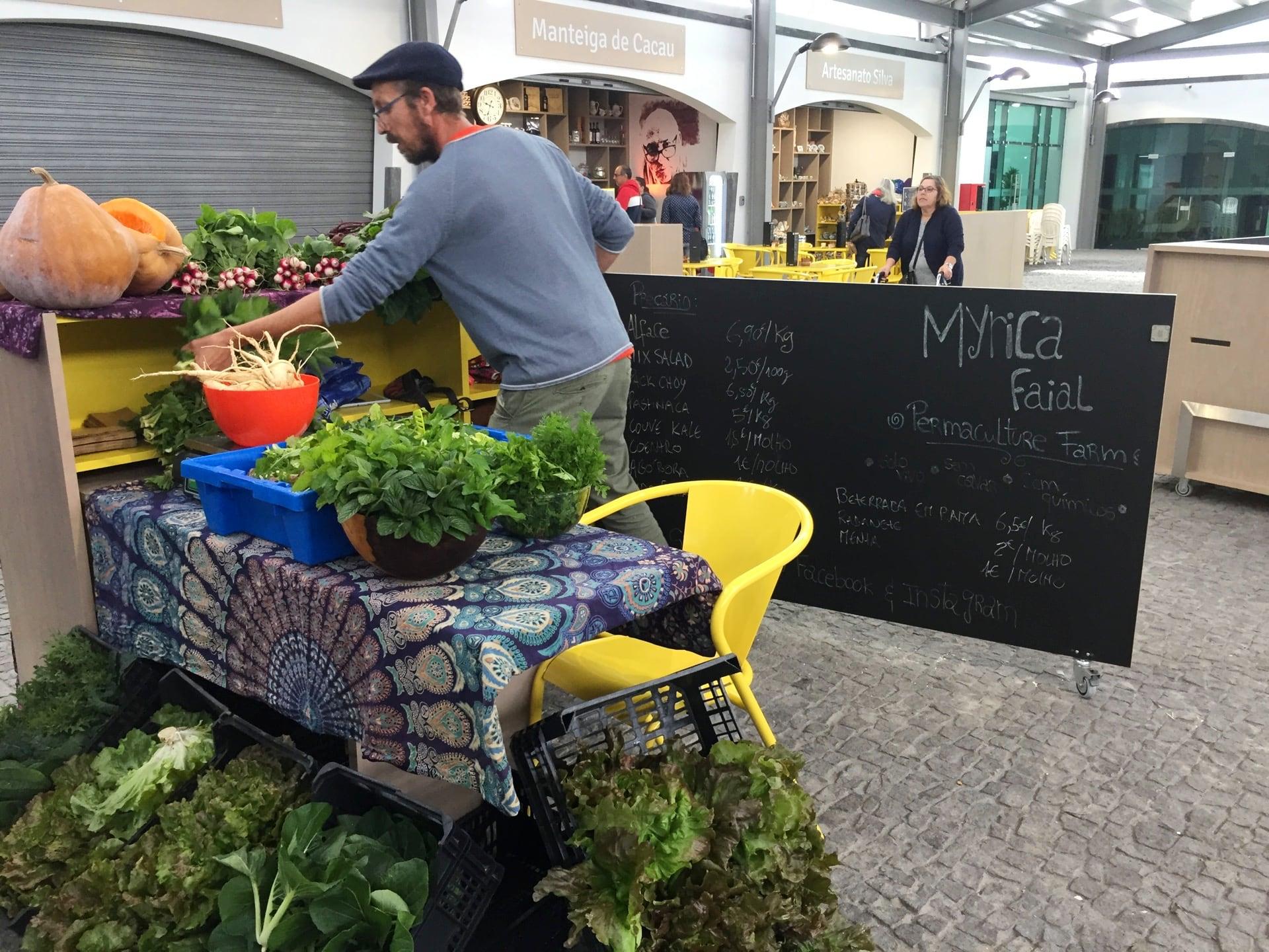 Nuovo Mercato nel centro di Horta a Faial, Isole Azzorre