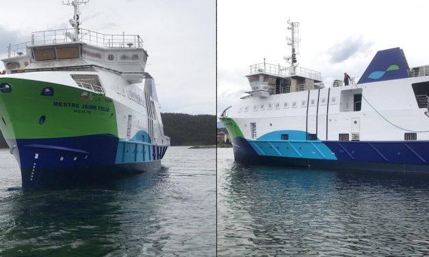Nuovo traghetto presto in servizio a Faial
